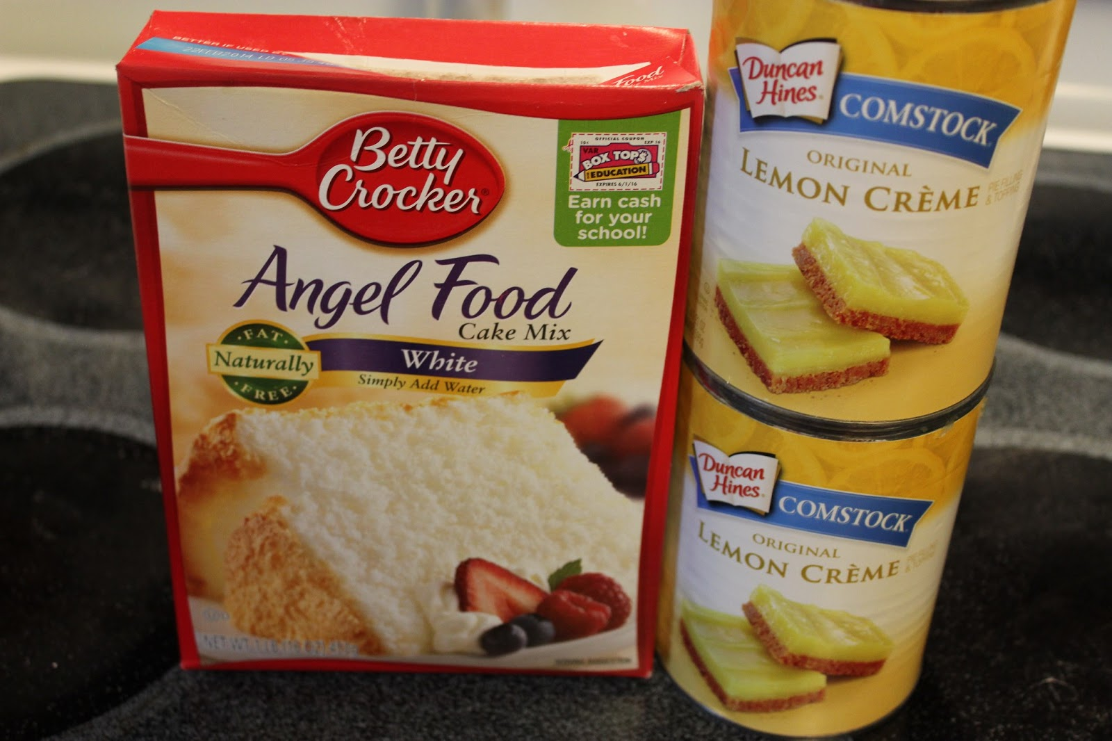 Lemon Cake Recipes Using Box Mix: Easy Lemon Squares With Angel Food Cake Mix