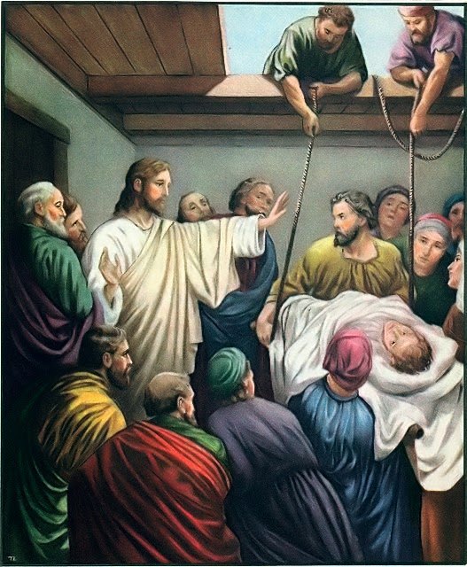 The Priest And The World As He Sees It Jesus Healing The