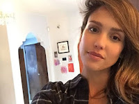 Creepy, Ghost Participate There Selfie Photos of Jessica Alba