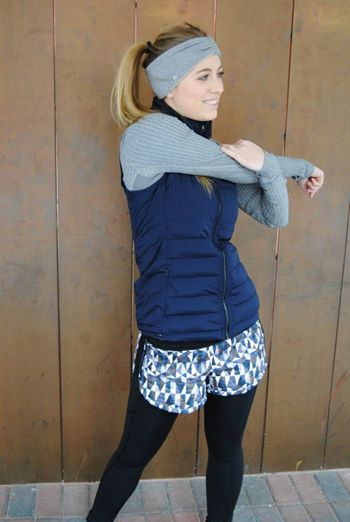 lululemon inkwell fluffed up vest