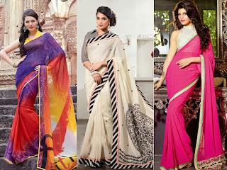 Indian Traditional Saree look