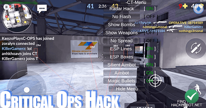 critical ops generator