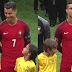 Cristiano Ronaldo made this kids day with just a smile! and it felt like heaven