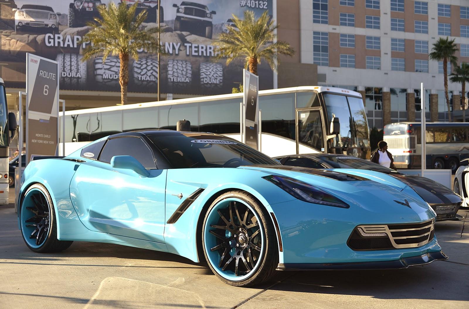 More Pictures Of Forgiato's Wide Body Corvette C7 : ebeasts com