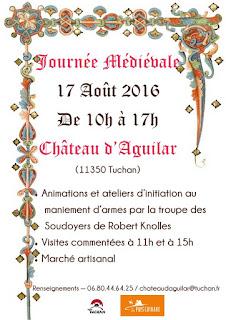 Journée Médiévale au château d'Aguilar