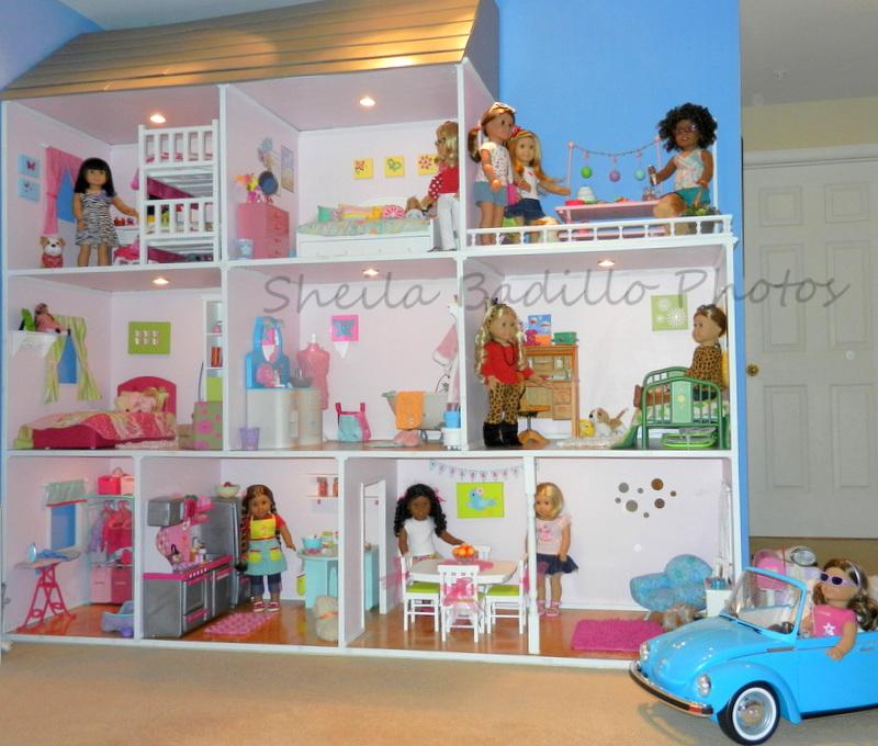 American Girl Doll Play Amazing American Girl Doll House!