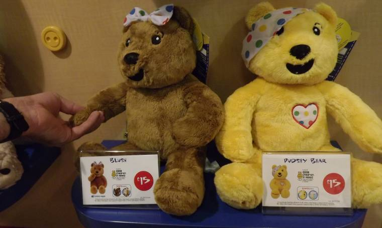 Pudsey Bear Is Back In Build-A-Bear