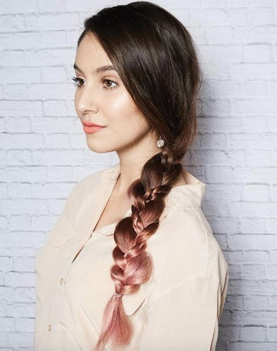 Gorgeous Braid For This Fall