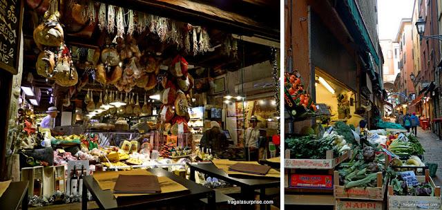 Gastronomia em Bolonha: Mercato del Mezzo