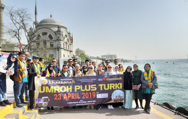 jamaah umroh plus turki bosphorus cruise