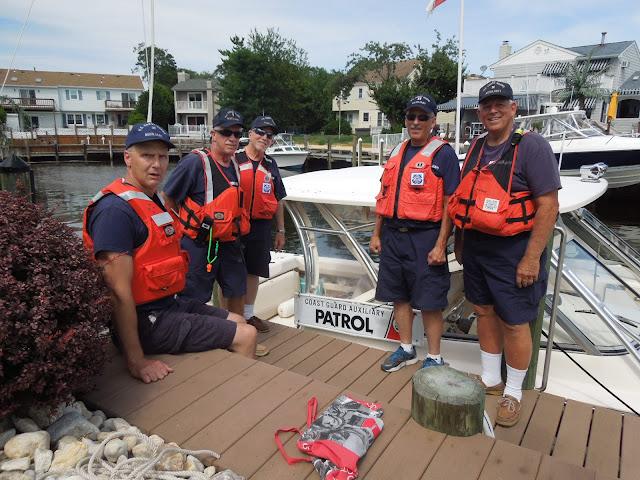 8-6-15 patrol - M.Shymko,F.Schmidt,J.Ignozza,G.Delmonico,J.Fisher.
