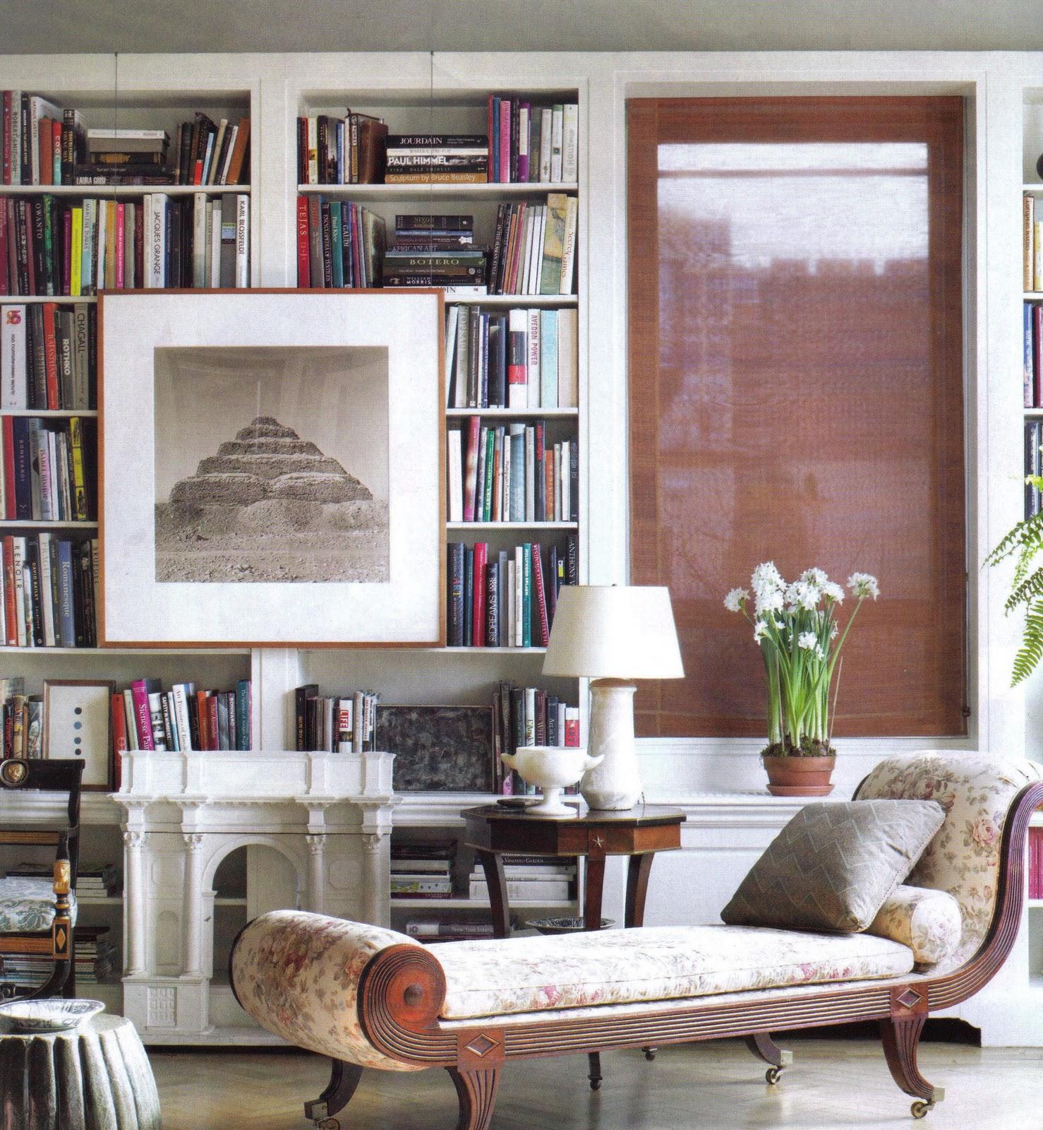 Dining Room With Bookshelves On Pinterest