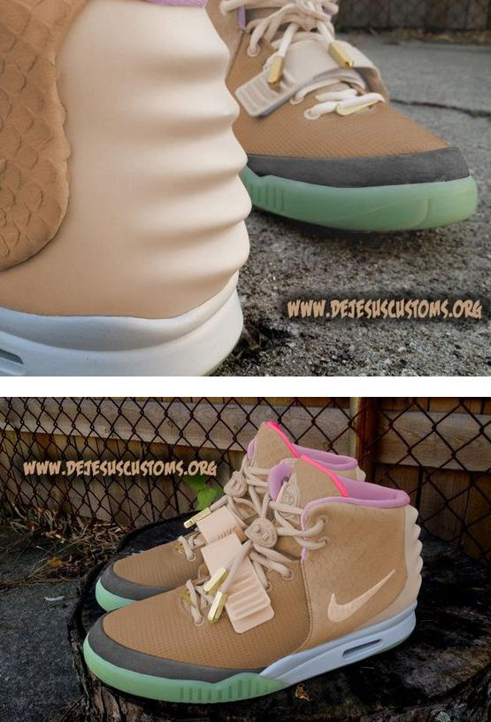 finest selection c7db9 498be air yeezy tan pink