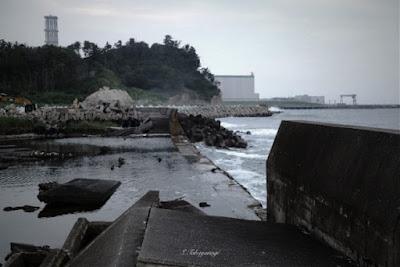 日本の風景 福島原発の様子