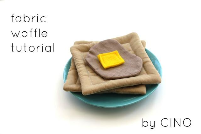 Waffle de feltro