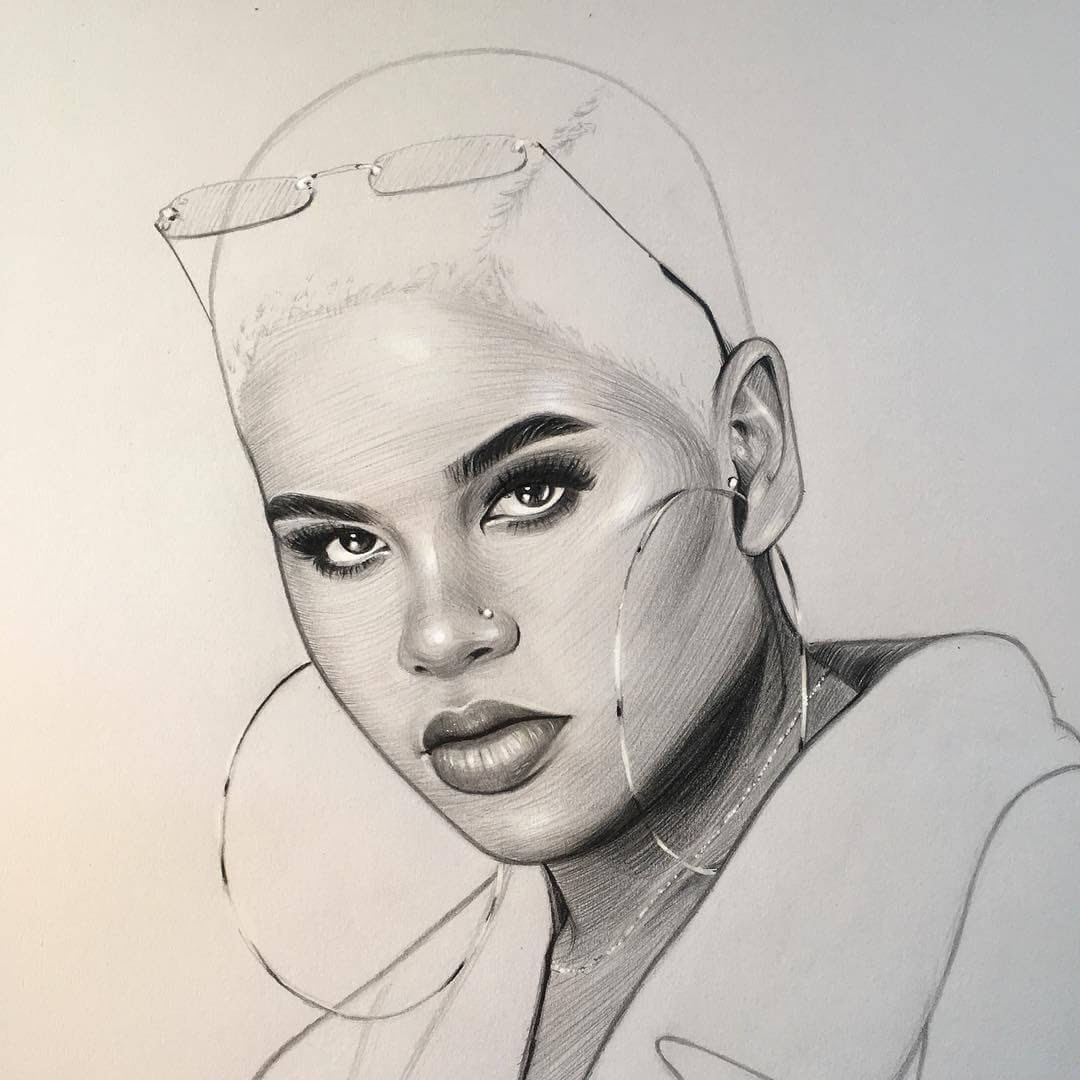 02-Alissa-Ashley-Thomas-Letor-Wave-Like-Style-Minimalist-Pencil-Portraits-www-designstack-co