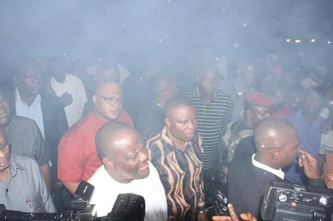 Gov. Wike Visits Market Gutted By Fire, Promises To Rebuild It