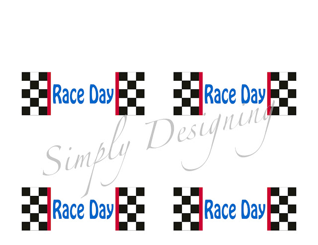 Black and White Chocolate Race Cars with FREE Printable Topper 32
