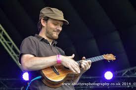 Ben Rouse playing uke