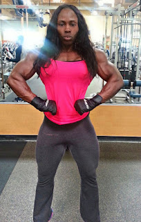 Victoria Dominguez female bodybuilder