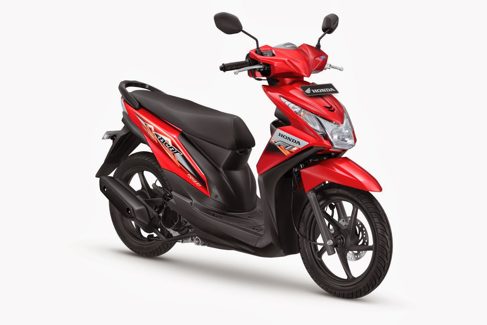 The All New Honda BeAT- FI CBS Electro Red