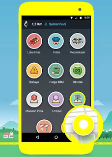 Waze, Aplikasi Navigasi GPS, Peta Dan Lalu Lintas Live Gratis.