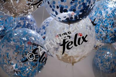 Печать логотипа на больших воздушных шарах
