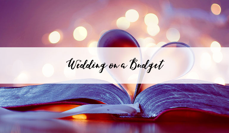 Our budget wedding