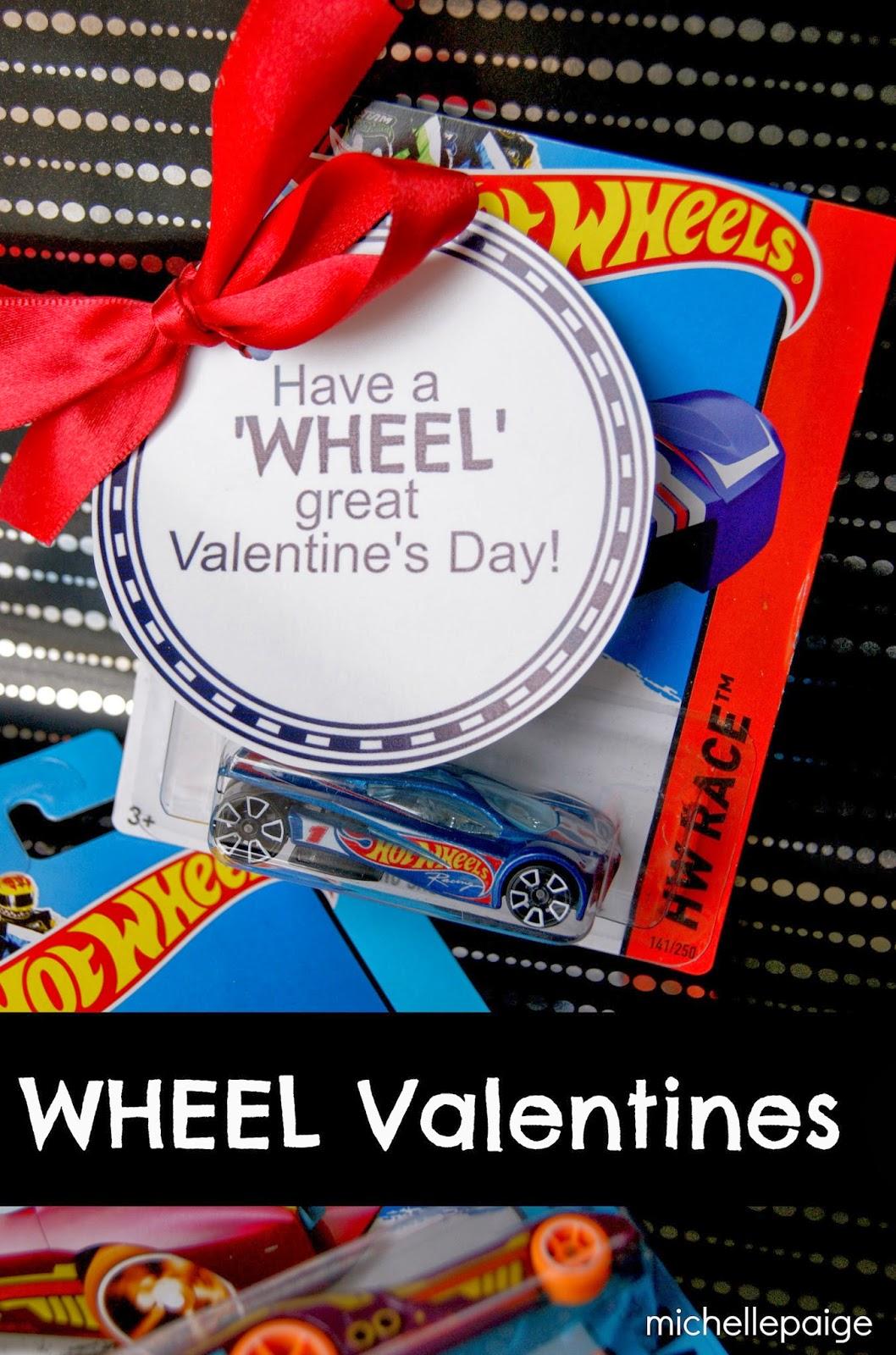 Michelle Paige Blogs Wheel Valentines