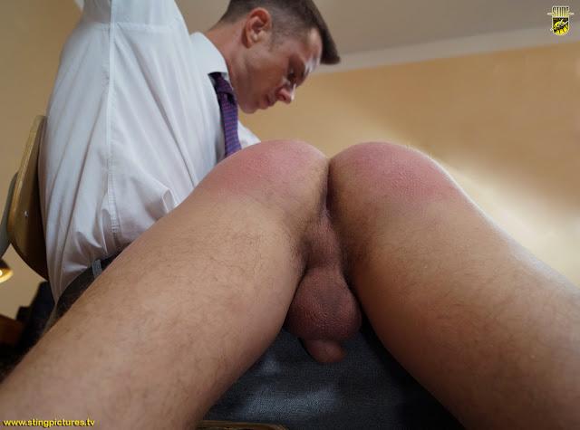 Spank his balls