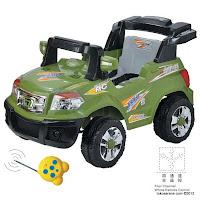 2 Mobil Mainan Aki Elite 006Q Jeep