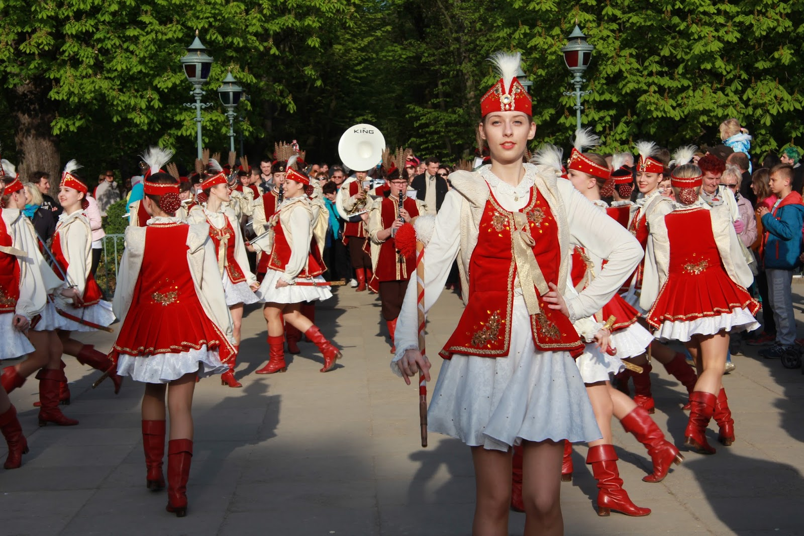 Tance Ludowe w Łazienkach Królewskich