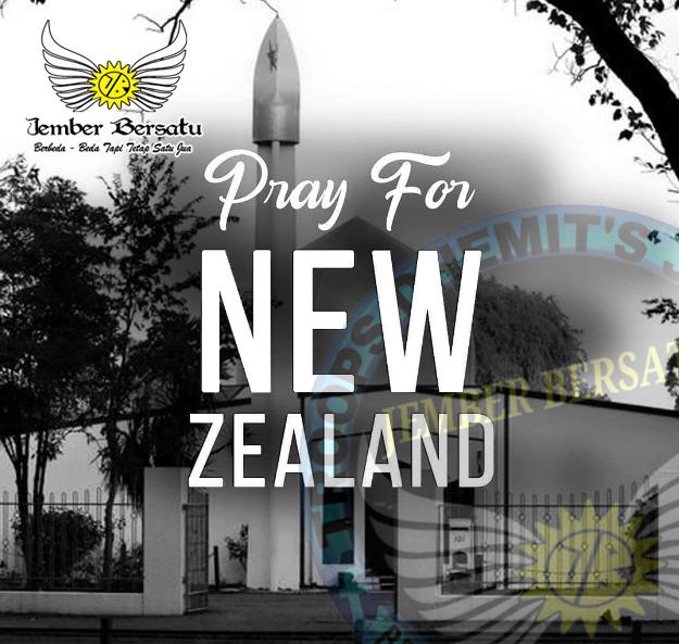 KOMUNITAS JEMBER BERSATU TURUT BERBELA SUNGKAWA ATAS TRAGEDI NEW ZEALAND