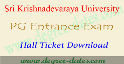 SKUCET hall ticket 2017 download sku pgcet results date
