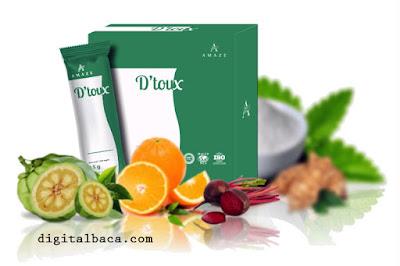detox tubuh secara alami, detox amaze, D'toux Amaze, Nu Manz Amaze, SUplemen Detox, Detox Alami,