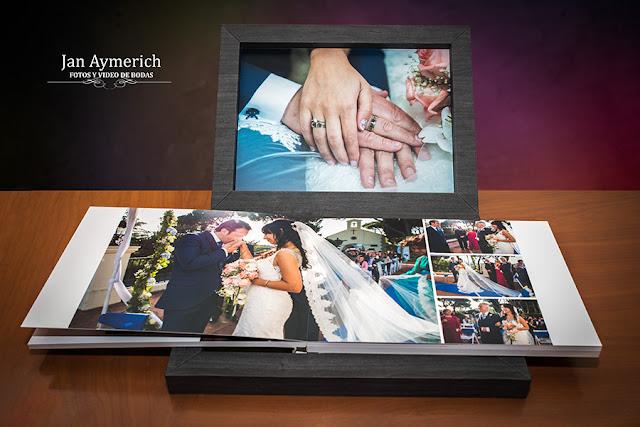 diseño album de bodas
