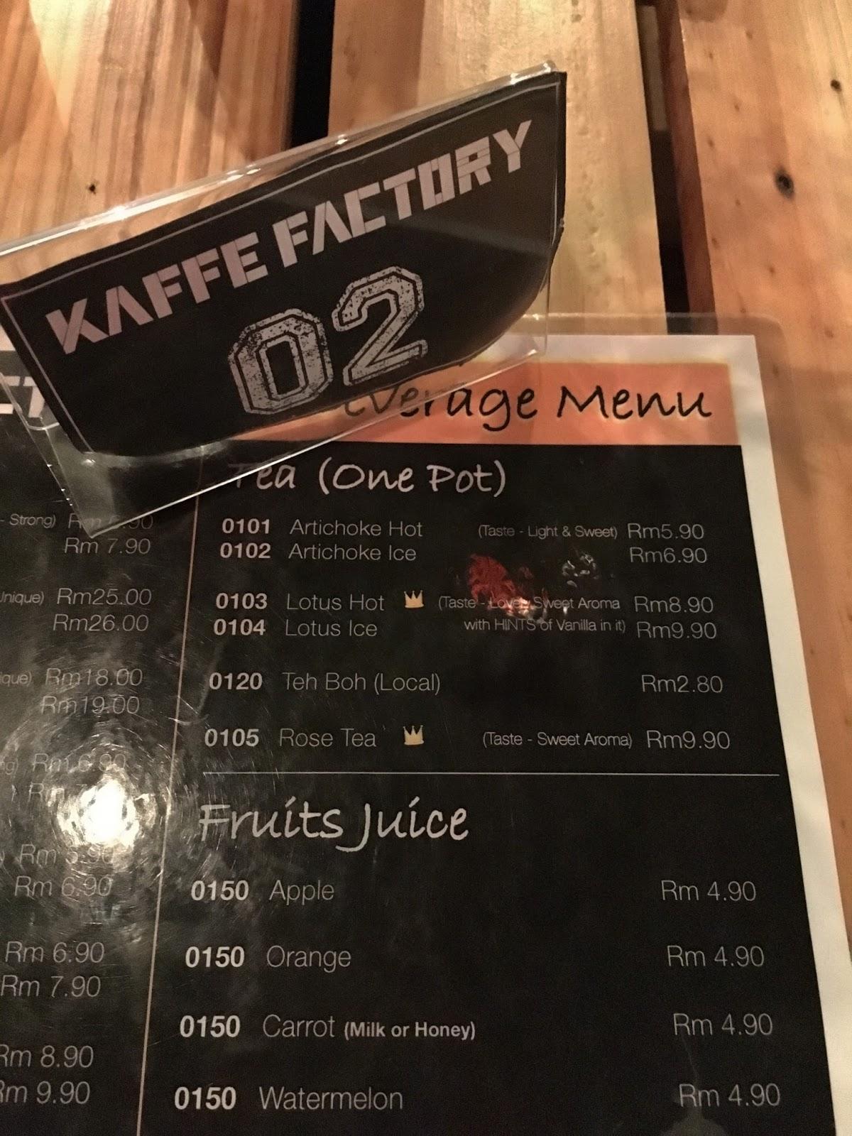 Maeve S Cafe Menu