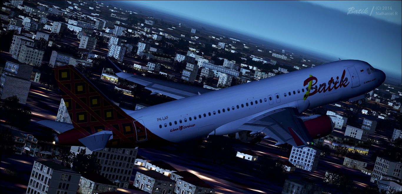 Airbus A320-214(SL) - Batik Air - PK-LAF/F-WWBO (6164