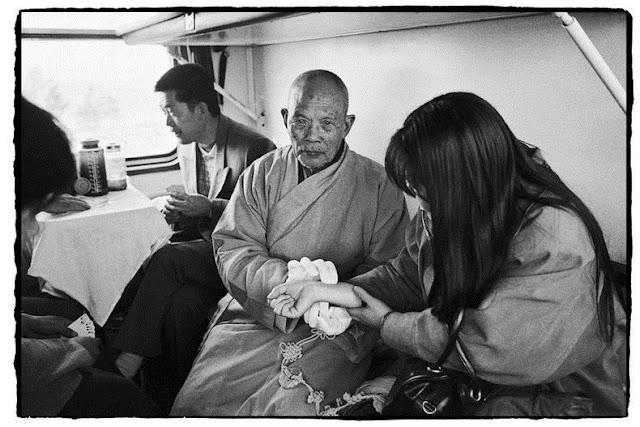Chinese People on Trains by Wang Fuchun