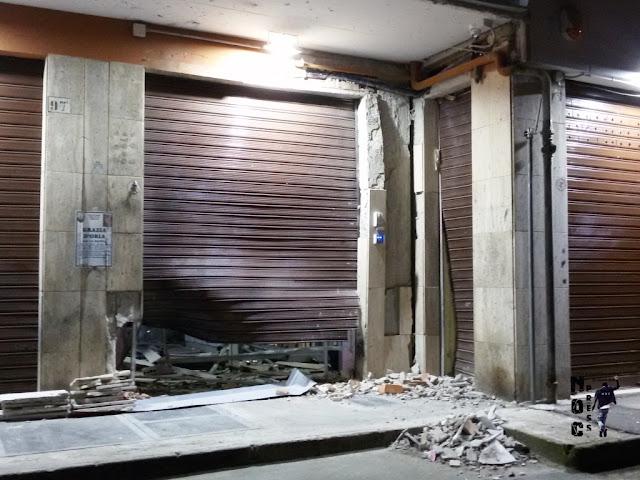 """Bomba a Foggia. [VIDEO] Colpita nuovamente l'attività commerciale """"Esteticamente"""""""