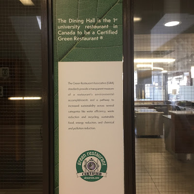 uOttawa Dining Hall receives a Green Restaurant certification