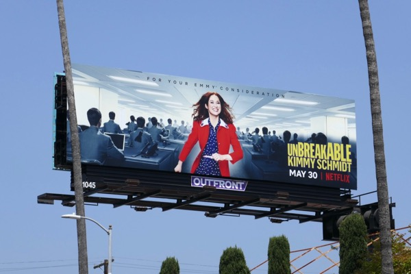 Kimmy Schmidt season 4 billboard