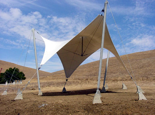 Tensile Membrane Structure In Uae
