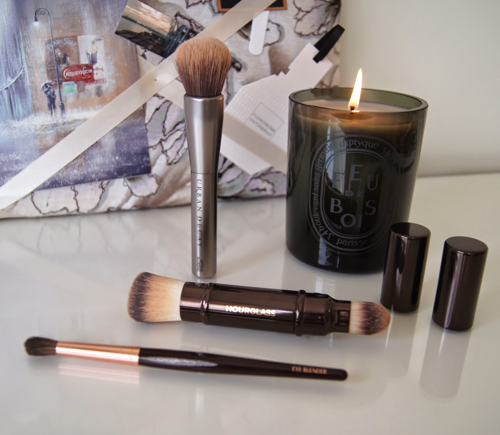 new favourite makeup brushes urban decay hourglass charlotte tilbury buffing blending brushes