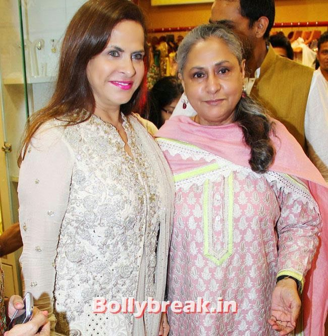 Ramola Bachchan and Jaya Bachchan, Payal Rohatagi, Ragini Khanna at DVAR Luxury Store Launch