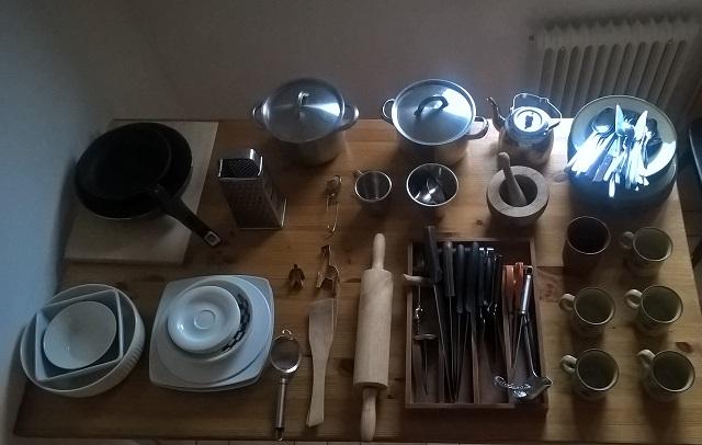 minimalismi keittiövälineet
