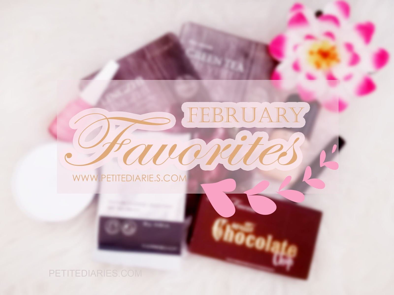 february beauty make up skincare favorites