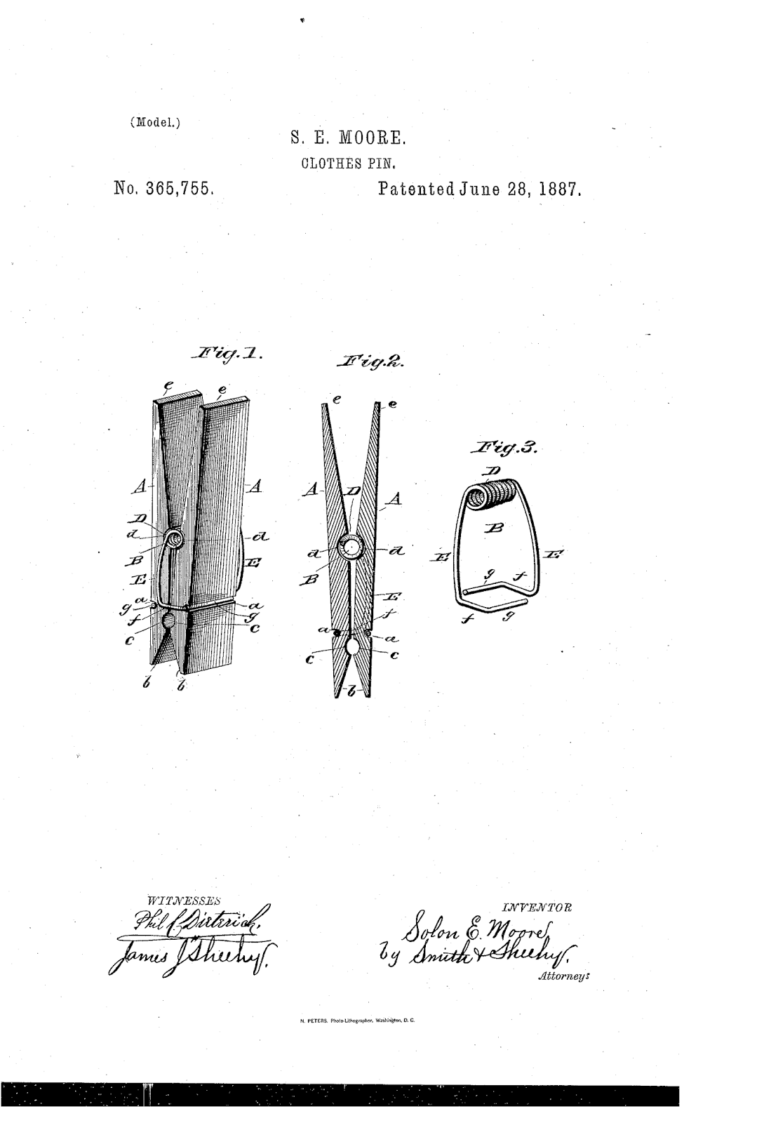 Patents And The Silicon Valley Of Clothespins