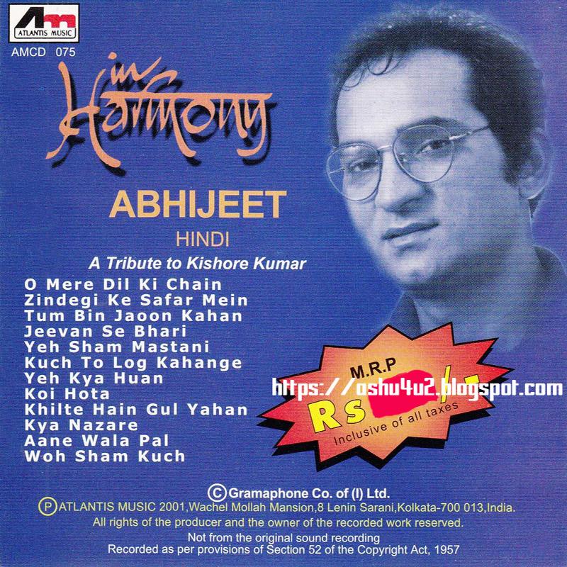 Kishore Ki Yaaden Vol 4 (1992-MP3-VBR-320Kbps) By Kumar Sanu