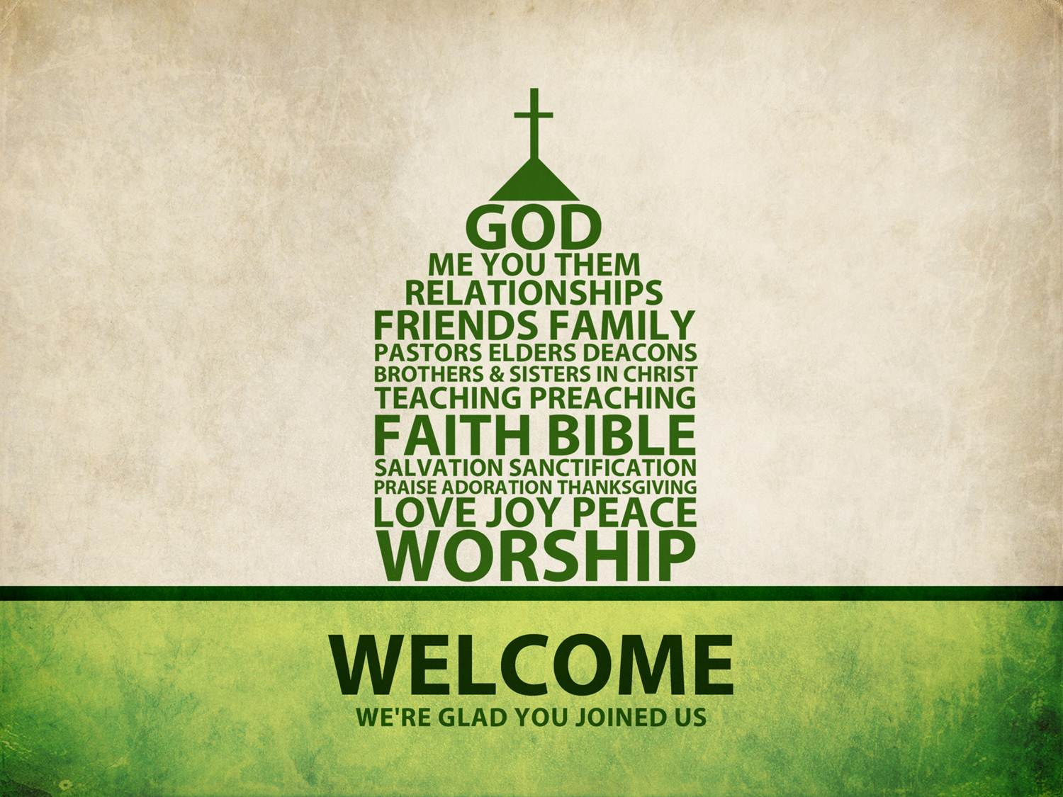 welcome church service worship members clipart powerpoint god glad pastor clip friends sermon fellowship re background join sunday template warm